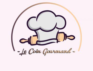 Logo pour le coin gourmand